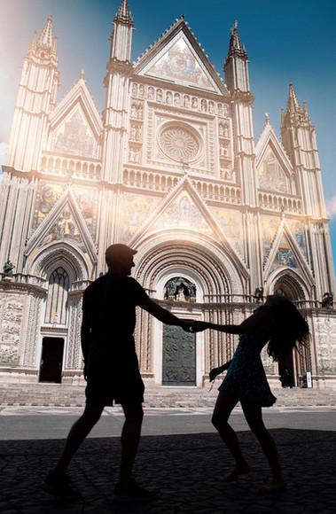 Couple Photo Shoot in Orvieto