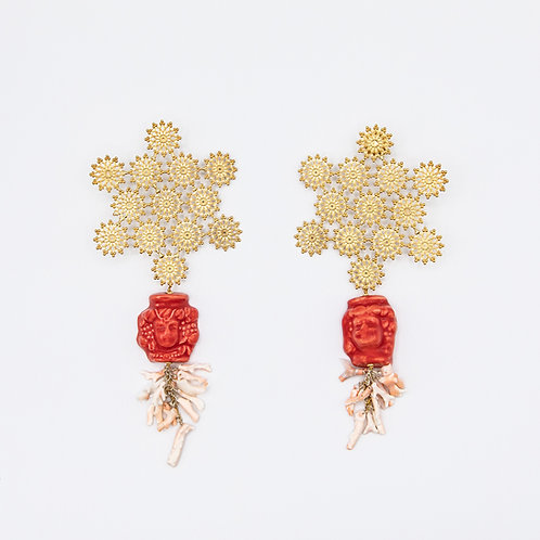 "GP ""Baciami Sotto Le Stelle"" (Kiss Me under the Stars) Earrings"