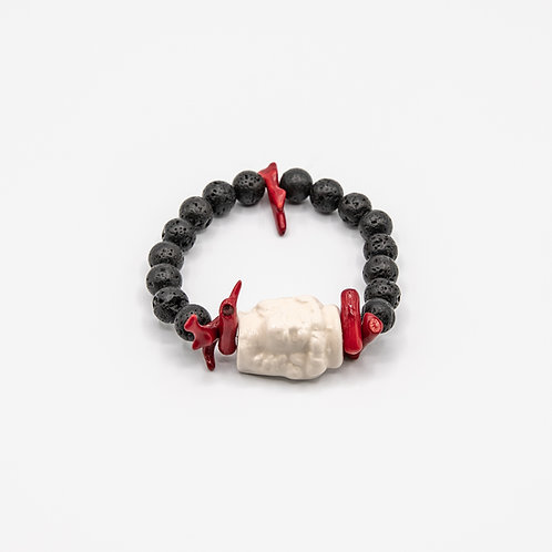 """GP """"Il Mio Moro Bianco"""" (My White Moro) Bracelet"""