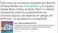 2018 - Alcala noticias mention
