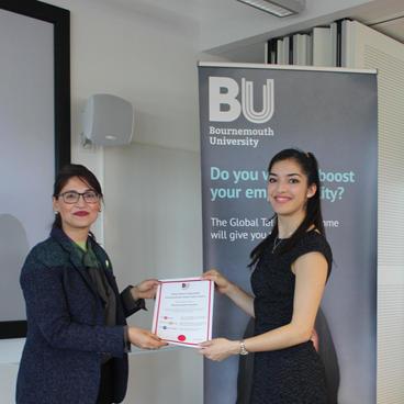 2018 - Global Talent Award BU