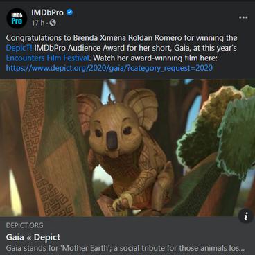 2020 IMDbPRO feature