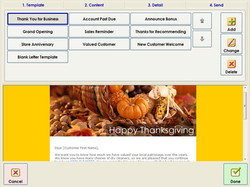 Marketing Screen