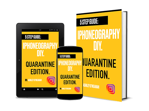 5 step guide; Iphoneography. Quarantine edition