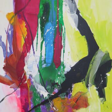 Peinture acrylique sur toile 146x114cm 2018