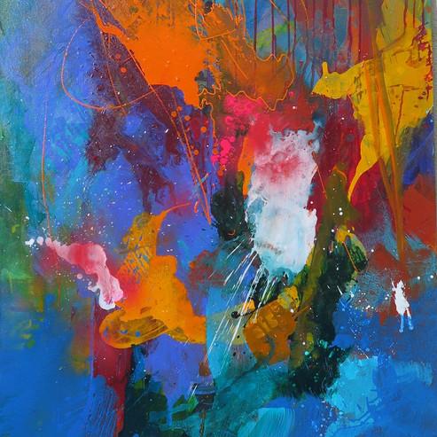 Peinture acrylique sur toile 130x97cm 2016