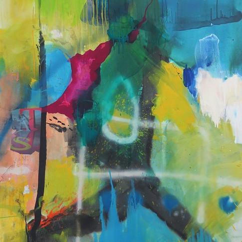 Peinture acrylique sur toile 146x114cm 2016