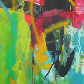 Peinture acrylique sur toile 146x114cm 2017