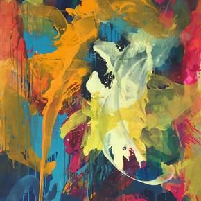 Peinture acrylique sur toile 163x130cm 2017
