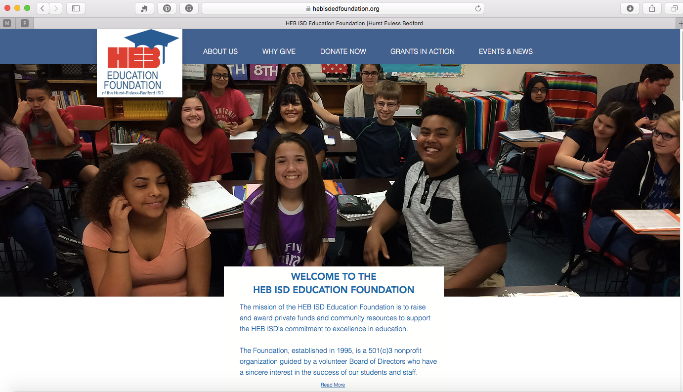 Heb Isd Calendar.District Events Heb Isd Education Foundation Hurst Euless Bedford