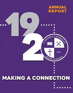 2019-2020 Annual Report for Cassata Cath