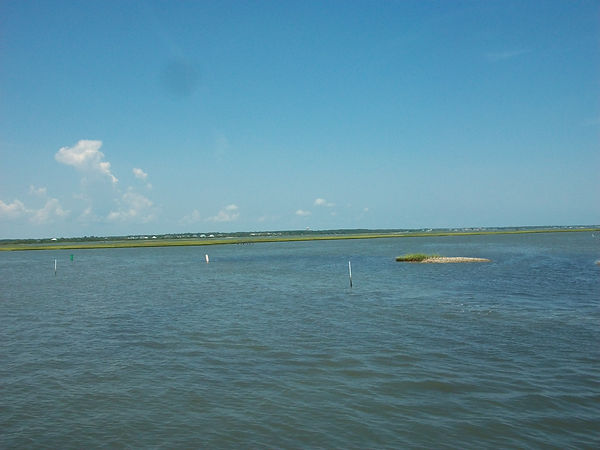 Bogue Sound, Intracoastal Waterway(ICW)
