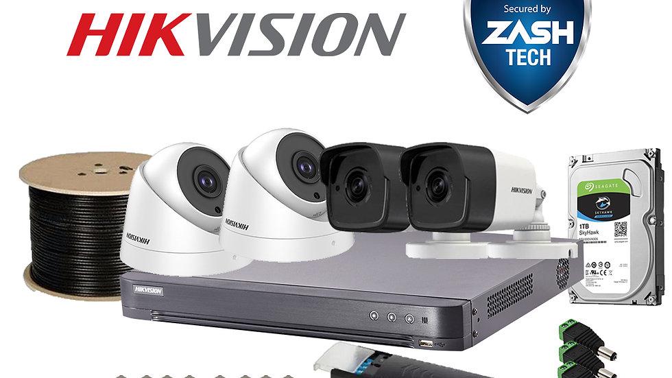 Hikvision 4 Channel Analog 5MP DIY