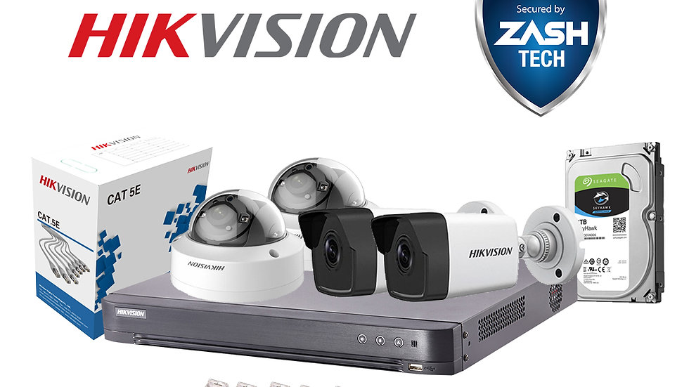 Hikvision 8 Channel IP 2MP