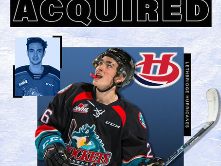 Liam Kindree signs with the Lethbridge Hurricanes (WHL)
