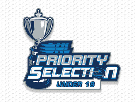 Four clients selected  in 2021 OHL U18 Draft!