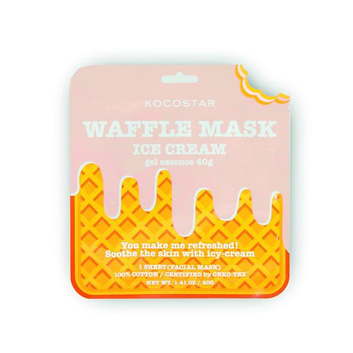 Waffle Maske Ice Cream