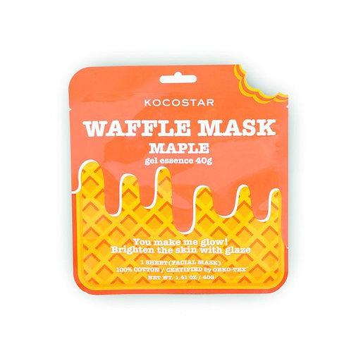 Waffle Mask Maple