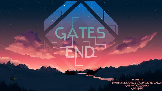 Splash Screen for game Gates End