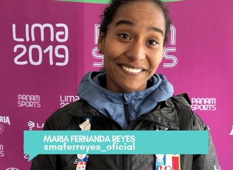 Maria Fernanda con mente positiva.