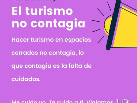 El turismo en espacios cerrados tampoco contagia