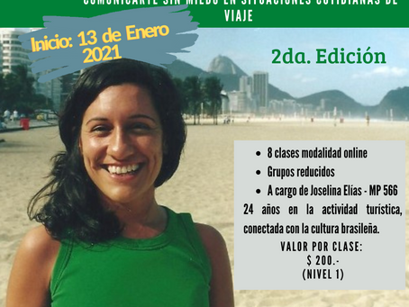 Curso de verano: Portugués para viajeros - 2da. edición