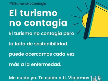 El turismo no contagia pero...