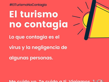 El turismo no contagia