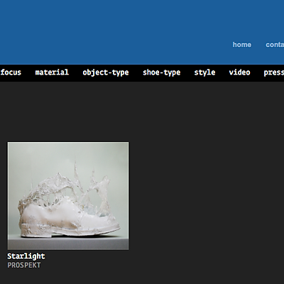 Virtual Shoes Museum