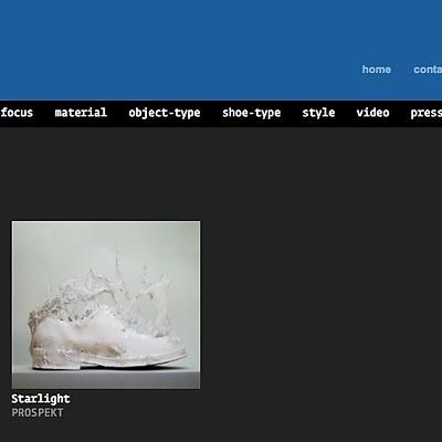 Virtual Shoes Museum