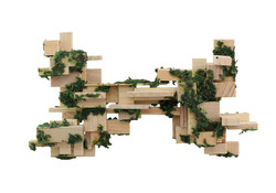 Cube Grass bow