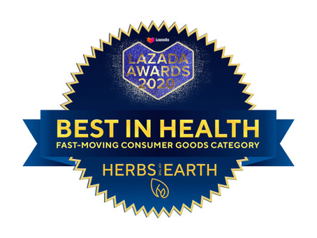 Herbs of the Earth Recognized at the 2nd Lazada Awards