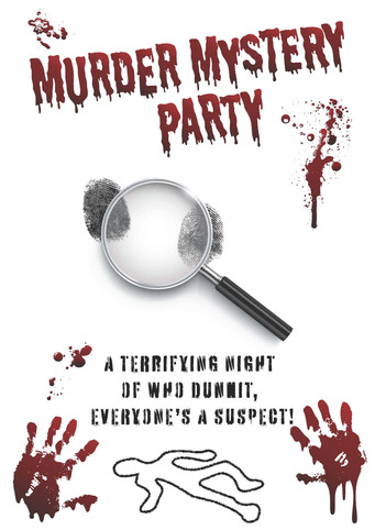 MURDER MYSTERY PARTY POSTER