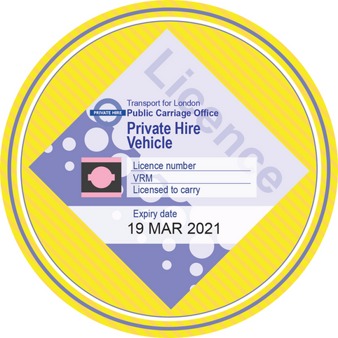 TAXI LICENCE