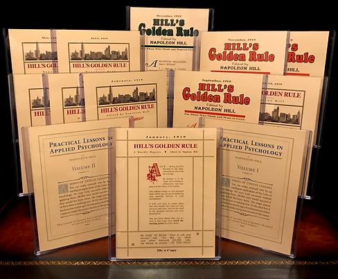 Napoleon Hill Hill's Golden Rule Magazine Vieux Publising
