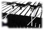 Vibraphone with mallets (blurred edges.p