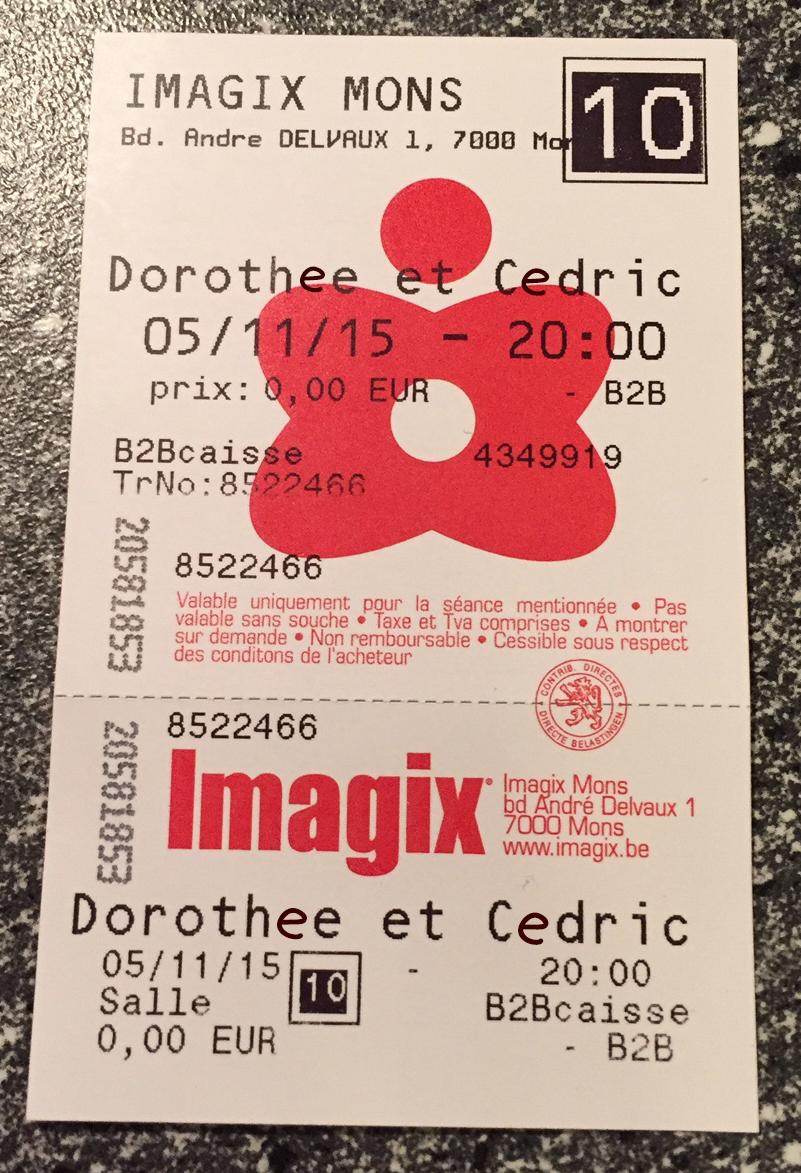ticket cinéma