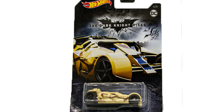 Batman Hot Wheels car Dark Knight rises 1\64th