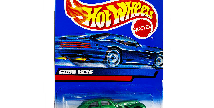 Hot Wheels Cord 1936  marked 1998