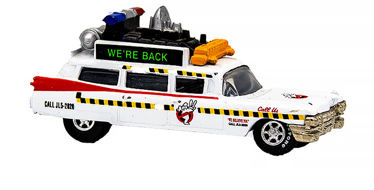 Johnny Lightning Ghostbusters Car Ecto 1