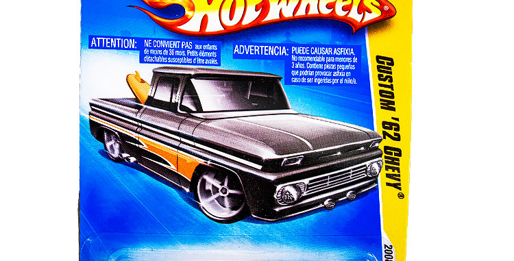 Hot Wheels 2008 First Editions Cutom 62 Chevy