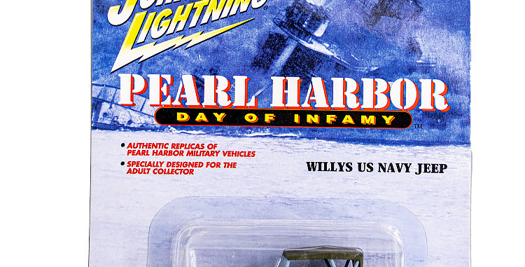 Johnny Lightning Car Pearl Harbor Willys Jeep