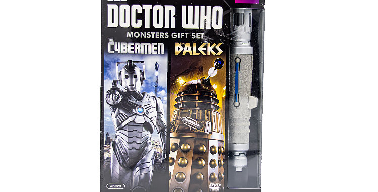 DVD/ Prop Dr. Who Monsters Gift Set