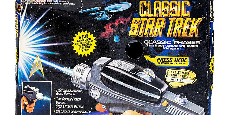 Star Trek Classic Phaser Toy Prop