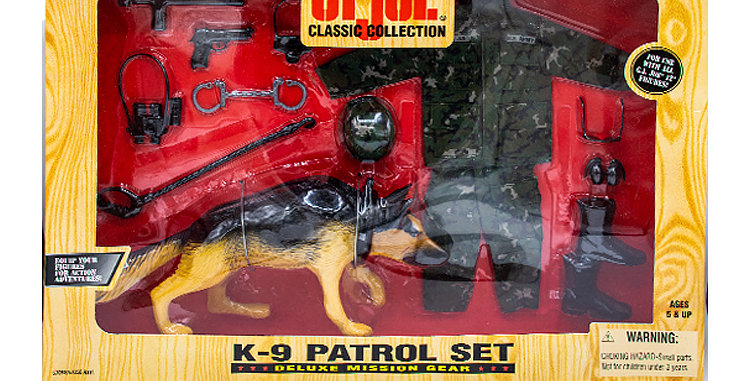GI Joe Classic Collection 12 Inch  K-9 Patrol