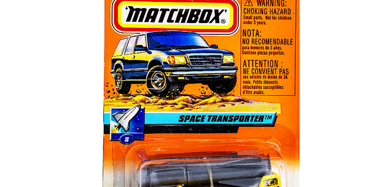Matchbox Cars Space Transporter  Marked 1999