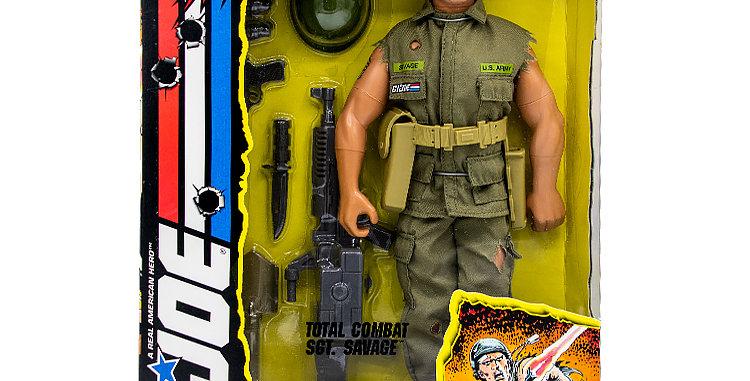 GI Joe 12 Inch SGT Savage