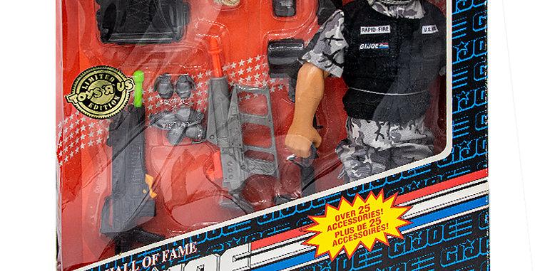 GI Joe Hall of Fame 12 Inch Rapid Fire Canadian