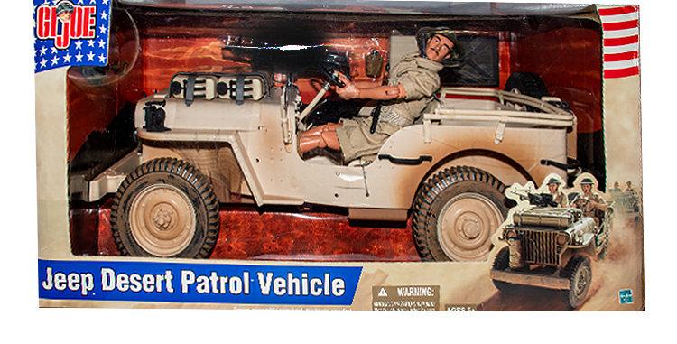 GI Joe Classic Jeep 12 Inch  Desert Patrol Vehicle