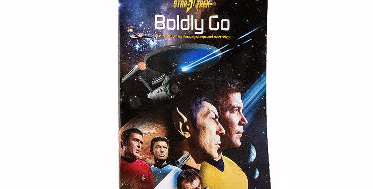 Canada Post Star Trek Stamps Catalog Version B